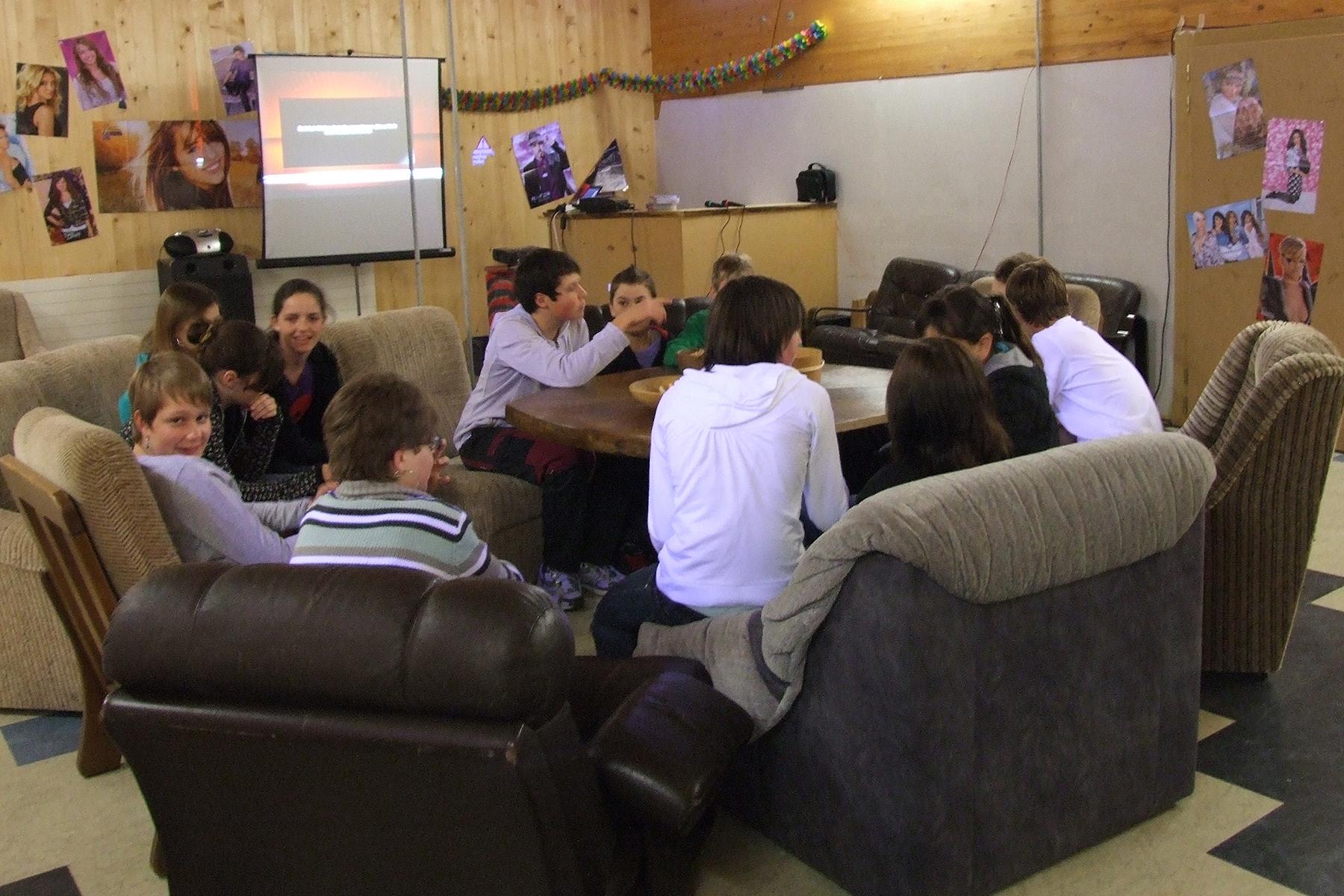 Bild: Jugendtreff der Kirche Boltigen
