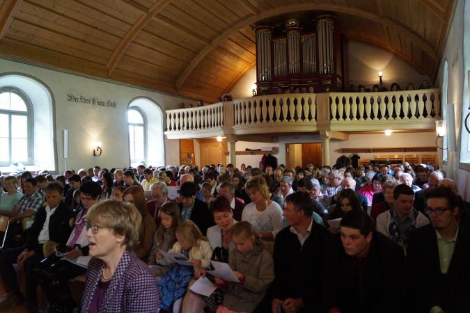 Kirche Boltigen - Gottesdienst in unserer Kirche